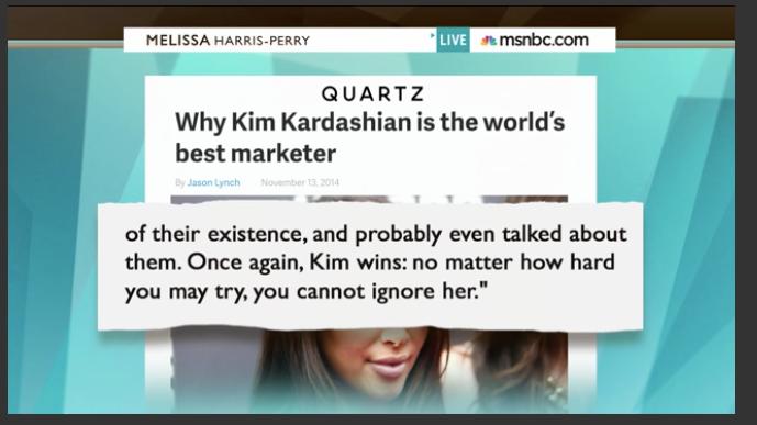 MHP Show Kim Kardashian Quartz