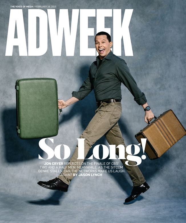Jon Cryer Adweek cover
