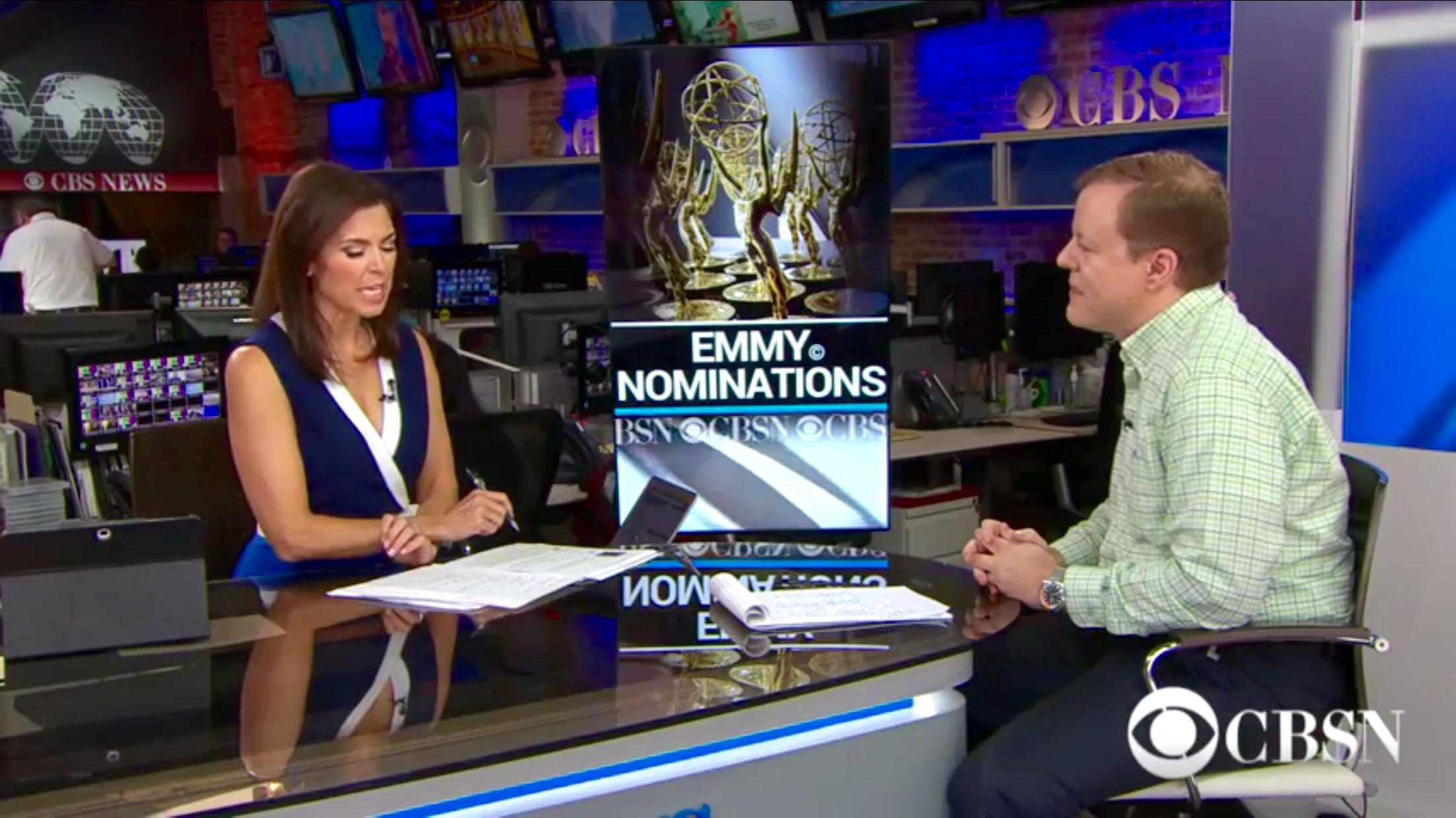 CBSN Emmy nods