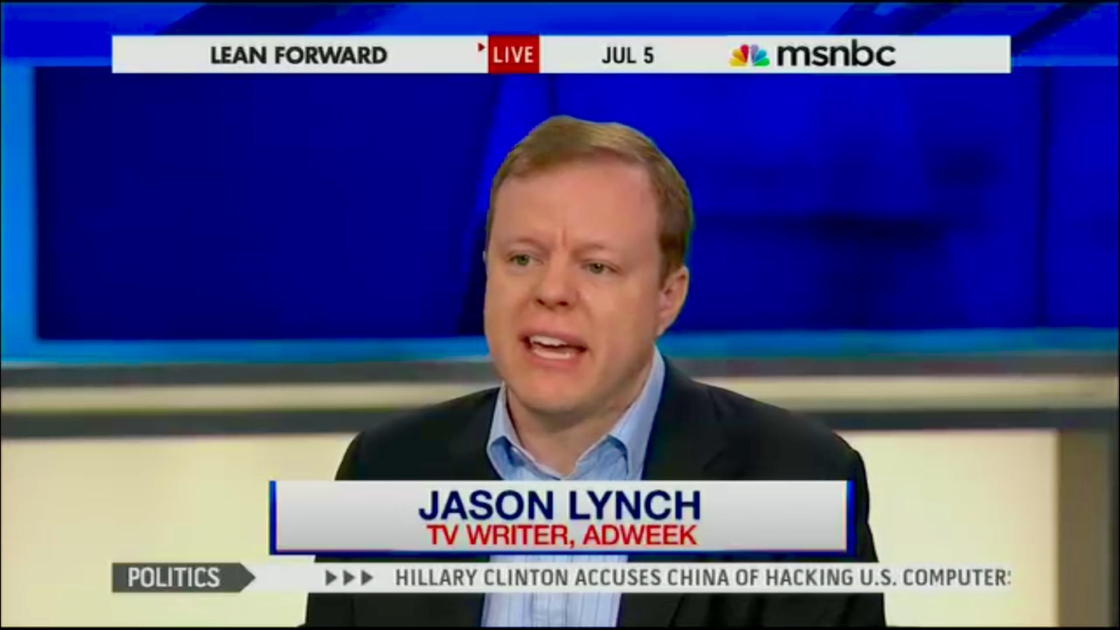 MSNBC Summer TV 1