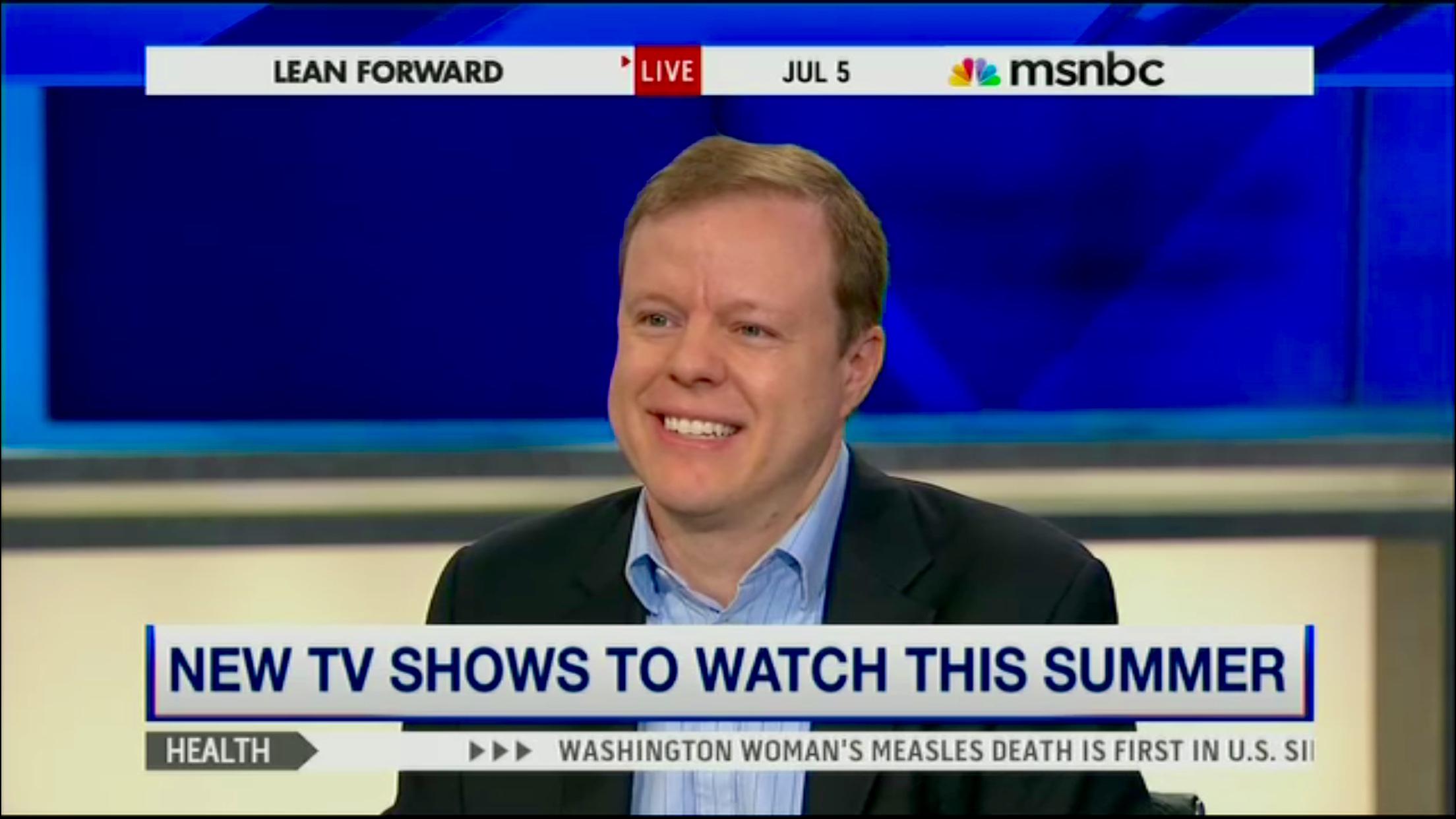 MSNBC Summer TV 3